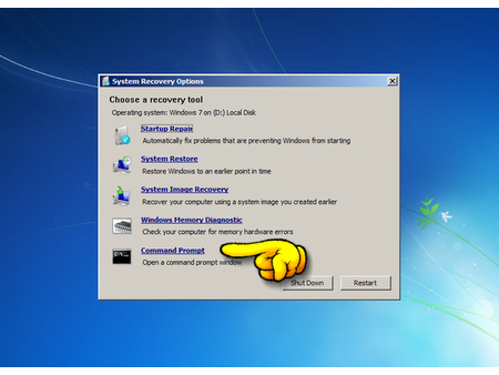 how to fix windows 7 boot